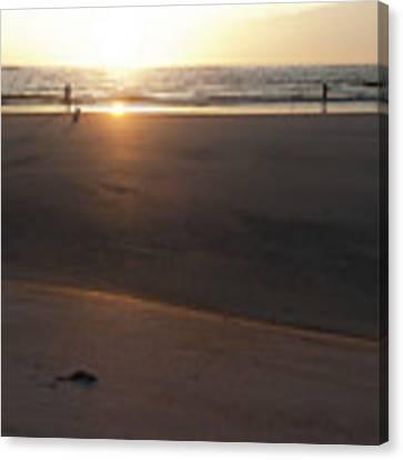 The Full Sun Canvas Print by Eric Christopher Jackson