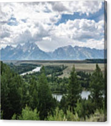 The Grand Tetons Canvas Print by Margaret Pitcher