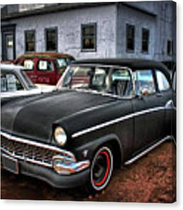 The Greaser's Ghost Canvas Print by John De Bord