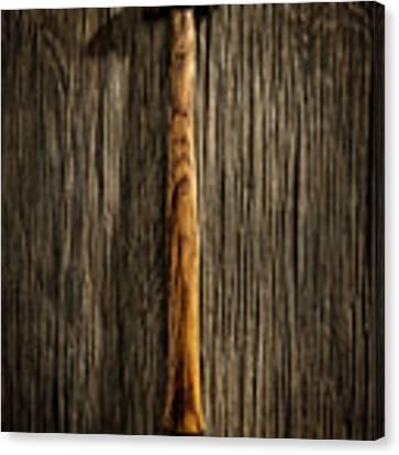 Tools On Wood 18 Canvas Print