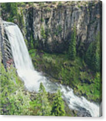 Tumalo Falls Canvas Print by Margaret Pitcher