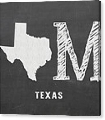 Tx Home Canvas Print by Nancy Ingersoll