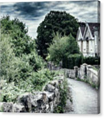 typical old English village Canvas Print by Ariadna De Raadt