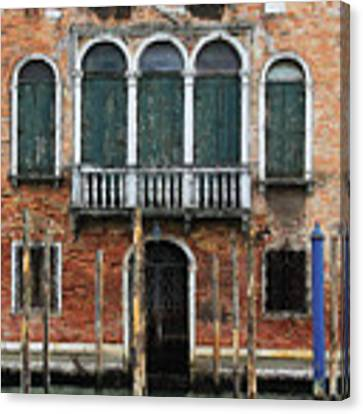 Venice Old Palace Canvas Print by Julian Perry