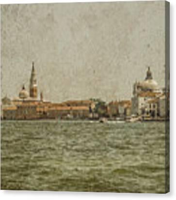 Venice, Italy - S. Giorgio And Sa. Maria Delle Zitelle Canvas Print by Mark Forte
