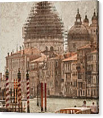 Venice, Italy - Santa Maria Della Salute Canvas Print by Mark Forte