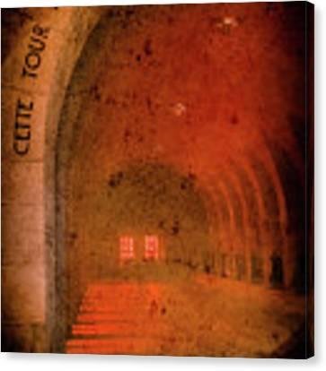 Verdun, France - Ossuary Hall Canvas Print by Mark Forte