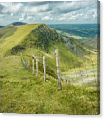 View From The Rangers Path Canvas Print by Nick Bywater