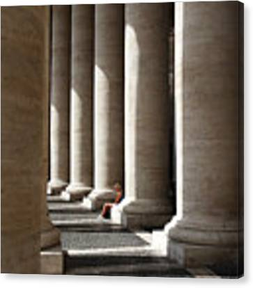 Waiting At St Peter's Canvas Print by Julian Perry