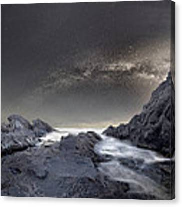 Where Is The Moon Canvas Print by Stoyan Hristov