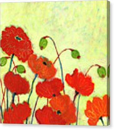 Wishful Blooming Canvas Print