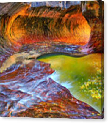 Zion Subway Canvas Print by Greg Norrell