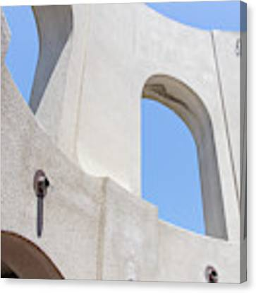 Coit Tower Telegraph Hill San Francisco California R586 Canvas Print by Wingsdomain Art and Photography