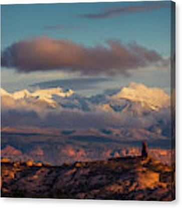 La Sal Mountains Canvas Print by Scott Kemper