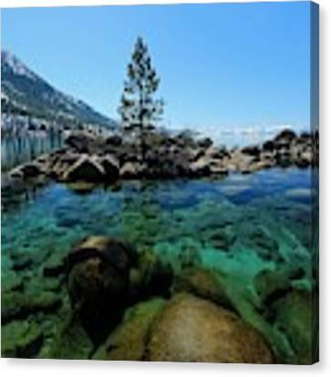 Tahoe Northern Island Canvas Print by Sean Sarsfield