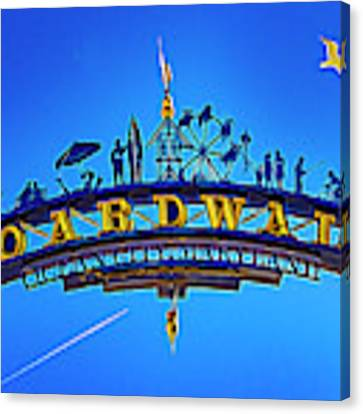The Boardwalk Canvas Print by Paul Wear