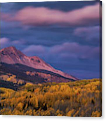 The Whisper Of Clouds Canvas Print by John De Bord