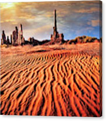 Totem Dunes Canvas Print by Scott Kemper