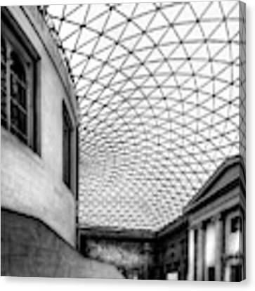 British Museum Canvas Print by Adrian Evans