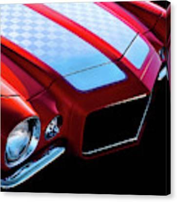 '71 Camaro Canvas Print by Douglas Pittman
