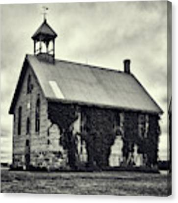 Abandoned Schoolhouse Canvas Print by Garvin Hunter