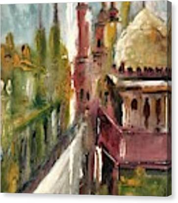 Mosque  Canvas Print by Nizar MacNojia