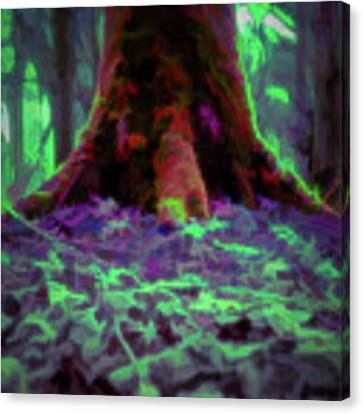 Another World - Overgrown Canvas Print by Scott Lyons