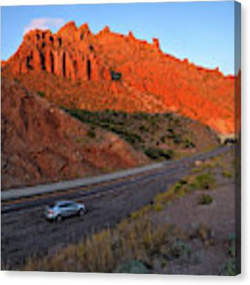 Arizona Highway  Canvas Print by Chance Kafka