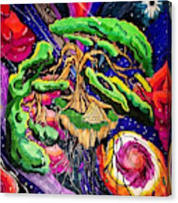 Artist Canvas Print by Nathen Warren