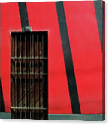 Bars And Stripes Canvas Print by Rick Locke