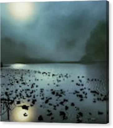 Blue Lagoon Canvas Print by Jon Exley