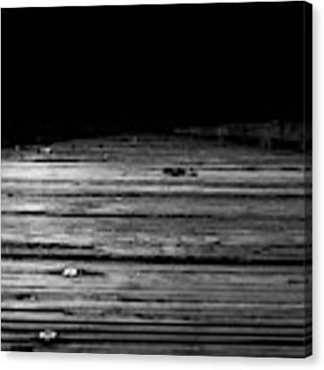 Boardwalk To The Unknown Canvas Print by Doug Camara