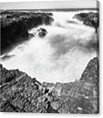 Cape Perpetua Canvas Print by Whitney Goodey