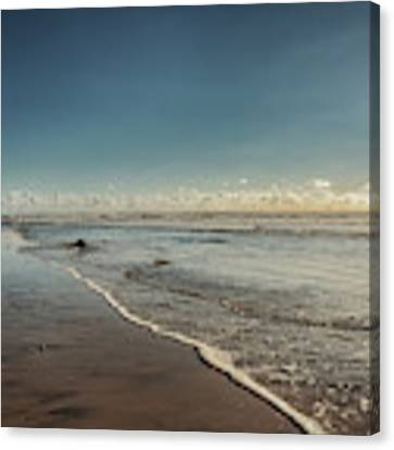 Carlsbad Low Tide Canvas Print by Alison Frank