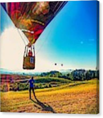 Catch Me If You Can. Canvas Print by Kendall McKernon