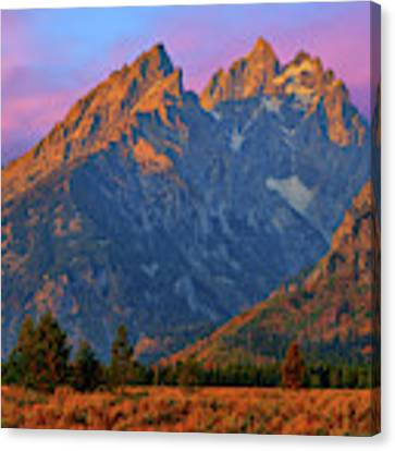 Cathedral Dawn Canvas Print by Greg Norrell