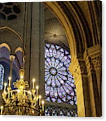Cathedrale Notre Dame De Paris Canvas Print by Brian Jannsen