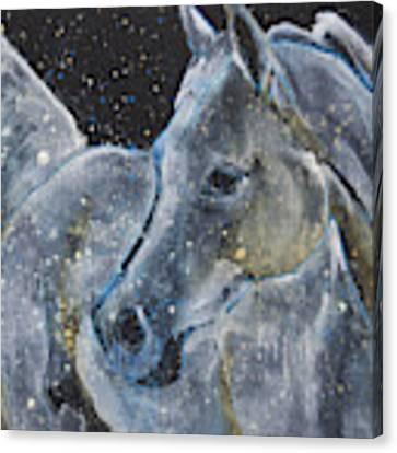 Celestial Abrabian Canvas Print by Jani Freimann