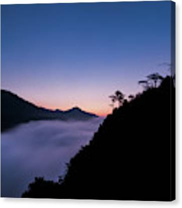 Cloud River Twilight Canvas Print by William Dickman