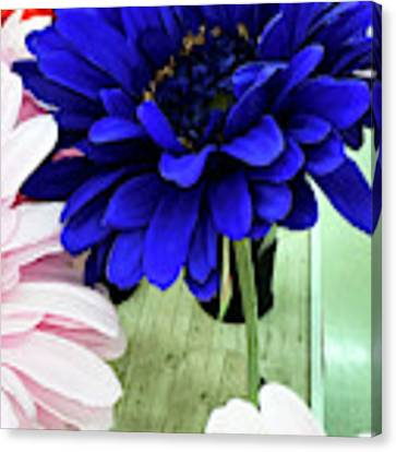 Color-faux Blooms Canvas Print by Rick Locke