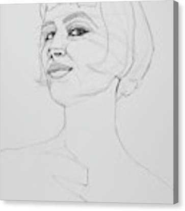 Confidence Canvas Print by Jani Freimann