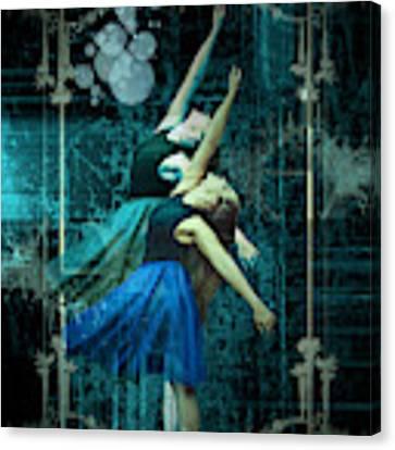 Cunha Ballet Dancer Transformation Canvas Print by Robert G  Kernodle