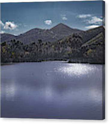 Discovery Lake Beauty Canvas Print by Alison Frank