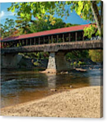 East Side Bridge Canvas Print by James Billings