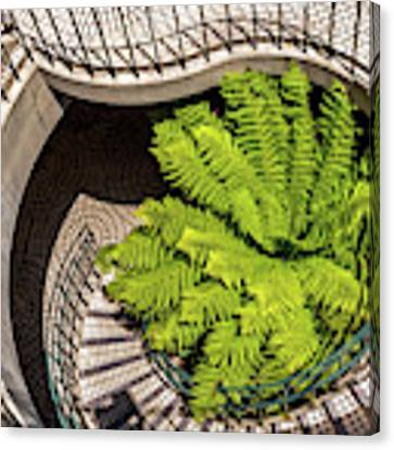 Embarcadero Stairway Canvas Print by Kate Brown