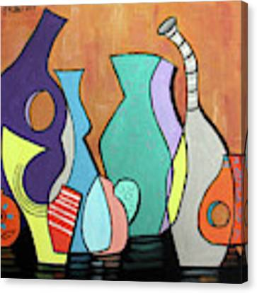 Empty Vases Canvas Print by Anthony Falbo
