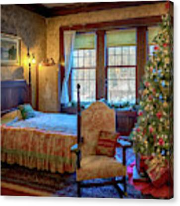 Glensheen Chester's Bedroom Canvas Print by Susan Rissi Tregoning