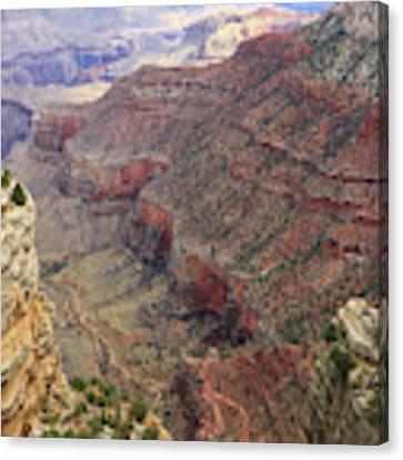 Grand Canyon View 4 Canvas Print by Dawn Richards