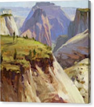 High On Zion Canvas Print by Steve Henderson