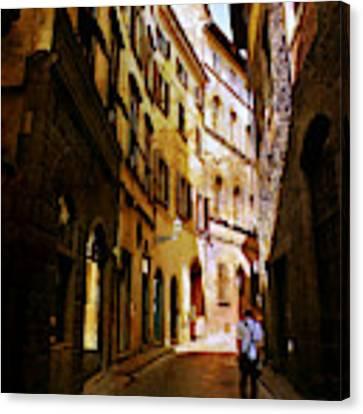 Il Turista Canvas Print by Micki Findlay